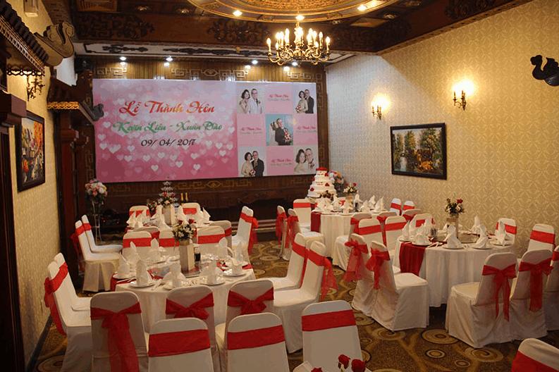 tổ chức tiệc cưới độc đáo tại hotel continental saigon