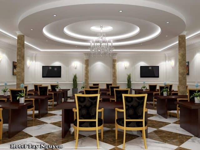 Phòng tổ chức tiệc trong khách sạn (Nguồn: Hotel Tây Nguyên)