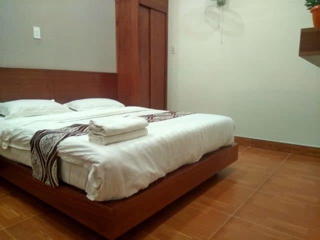 Phòng nghỉ trong Hồng My Hotel (Ảnh ST)