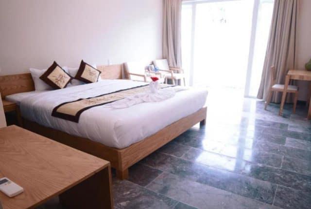 Phòng nghỉ rộng rãi, đầy đủ tiện nghi (Ảnh ST)