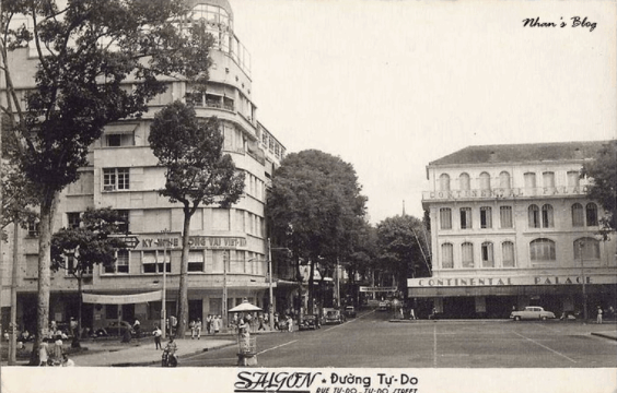 Khách sạn Continental là khách sạn lâu đời nhất tại Sài Gòn