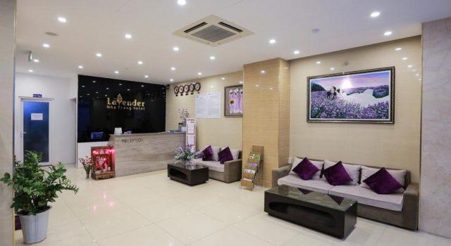 Lavender Nha Trang Hotel là một trong những khách sạn 3 sao Nha Trang gần biển với thiết kế chủ đạo là màu tím (Ảnh ST)