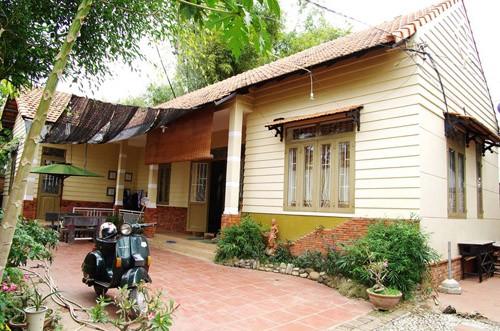Vespa's House là một ngôi nhà có kiến trúc bên ngoài khá bình dị ( Ảnh: sưu tầm)