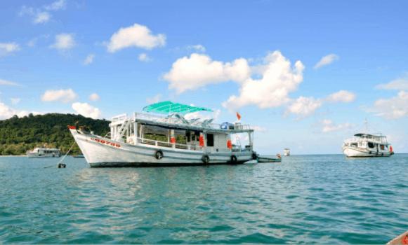 Tàu ra đảo Nam Du