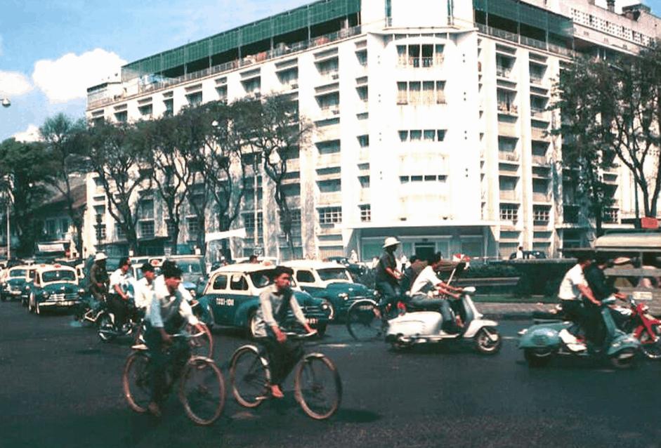 Hình ảnh Rex Hotel Sài Gòn năm 1960
