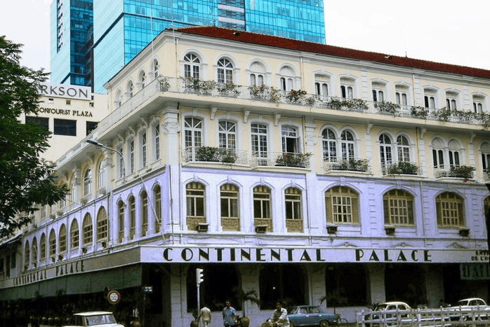 Hotel Continental Saigon xưa và nay