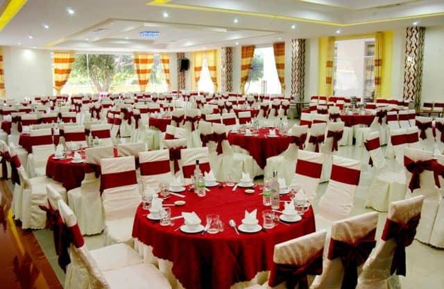 Nơi đây nhận tổ chức hội nghị, tiệc cưới với thiết kế ấn tượng (Ảnh ST)