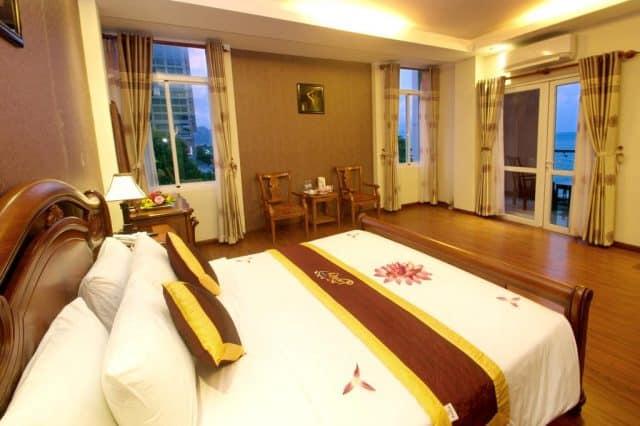 Phòng ngủ thiết kế trang nhã và tinh tế (Ảnh ST)