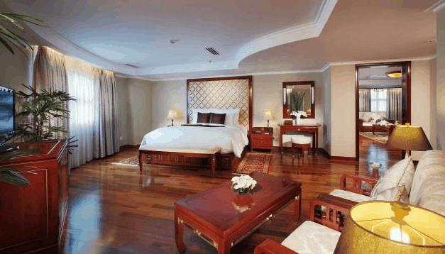 không gian phòng nghỉ tại khách sạn Rex