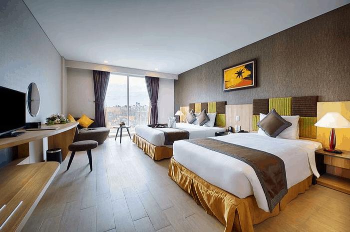 Không gian phòng nghỉ cao cấp tại khách sạn Mường Thanh Holiday