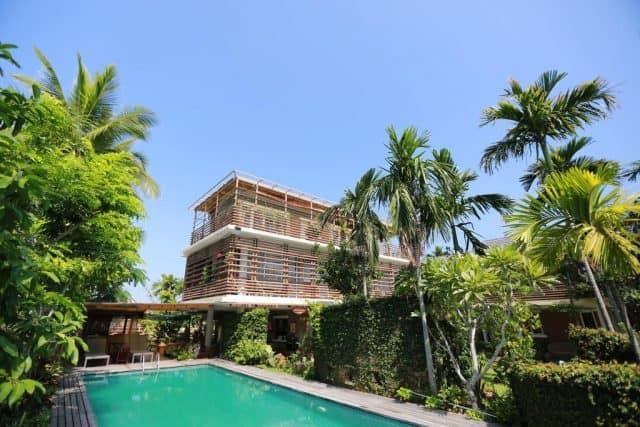 Là một trong những Villa Hội An đẹp, ngôi nhà nổi bật với thiết kế độc đáo (Ảnh ST)