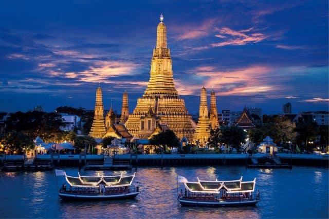 Kết quả hình ảnh cho Du thuyền trên dòng sông huyền thoại Chao Phraya