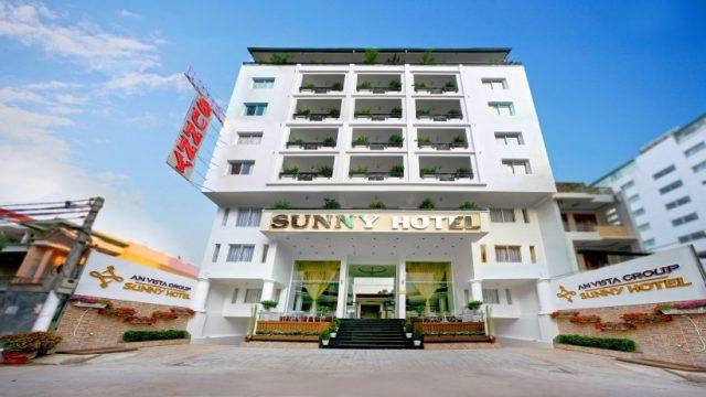 Khách sạn Sunny Nha Trang là một trong những khách sạn 3 sao Nha Trang đường Trần Phú ngay gần biển (Ảnh ST)