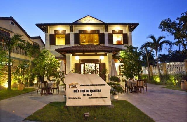 Lối kiến trúc độc đáo và đẹp mắt, đầy đủ nội thất sang trọng, tiện nghi (Ảnh ST)