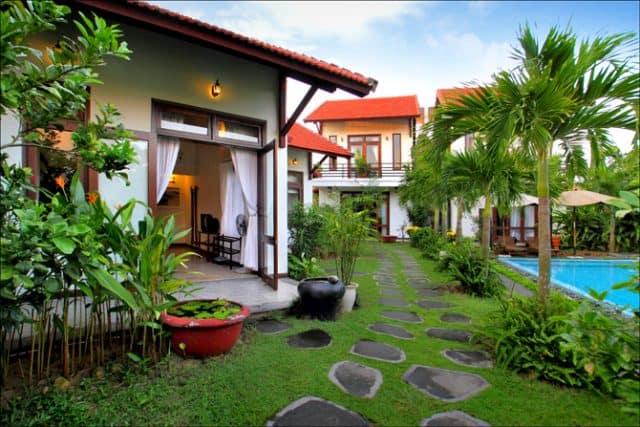 Văn Lan Riviera Villas với 6 biệt thự trong đó có 4 biệt thự đơn (1 phòng ngủ) và 2 biệt thự hai tầng (2 phòng ngủ) (Ảnh ST)