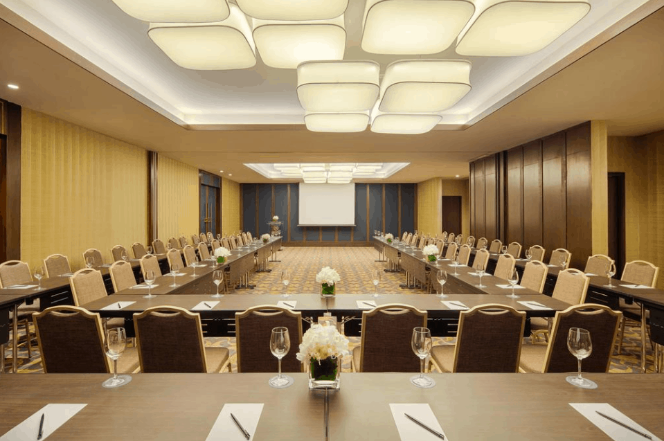 Các phòng họp tại Sheratong có lối thiết kế sang trọng