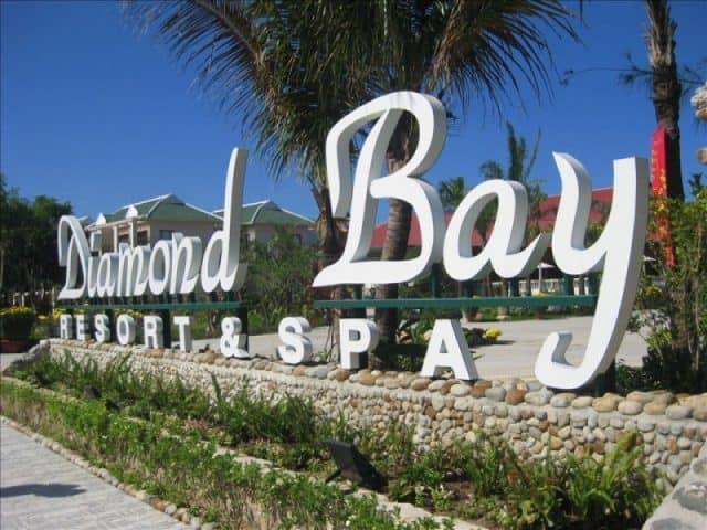 Khu nghỉ dưỡng cao cấp Diamond Bay Resort & Spa (Ảnh ST)