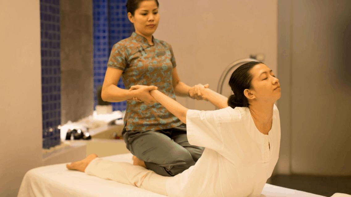 Hình ảnh trị liệu spa tại khách sạn Sheraton Saigon