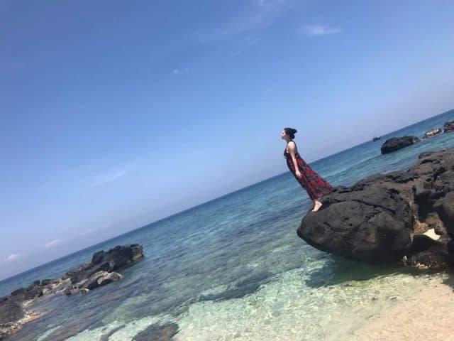 Những bức ảnh tuyệt đẹp trên đảo Bé Lý Sơn (Ảnh ST)