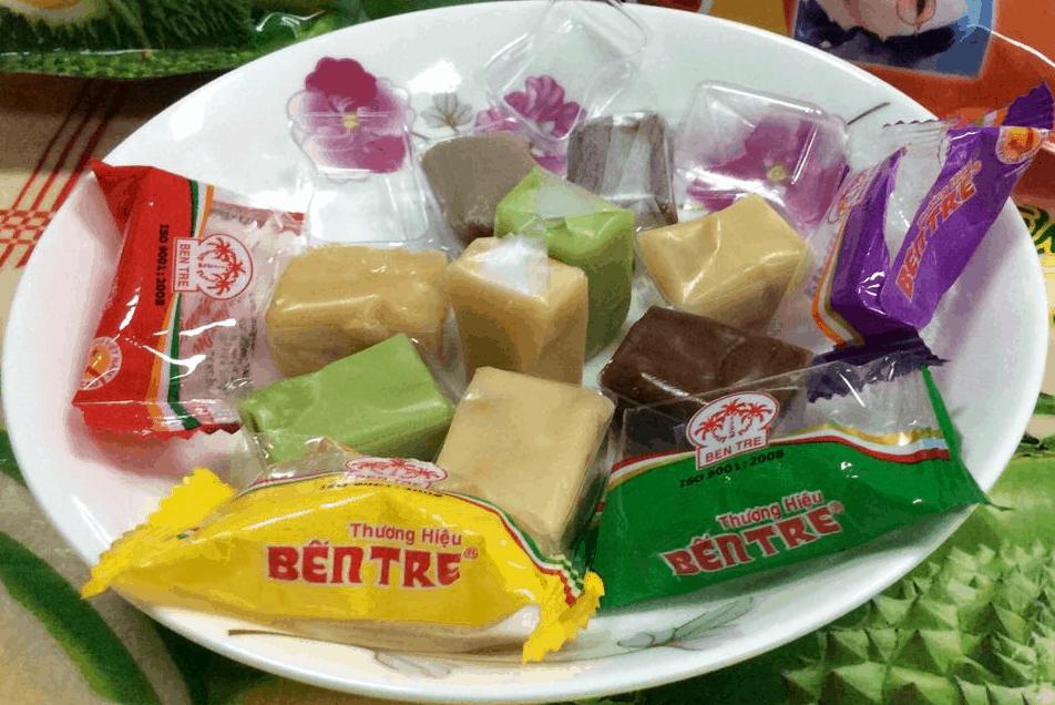 Kẹo dừa - Đặc sản miền Tây Nam Bộ
