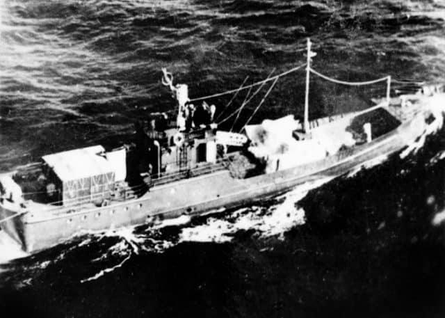 Hình ảnh về con tàu lịch sử được ghi lại trong những năm 1960 (Ảnh ST)