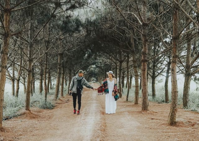 Địa điểm lý tưởng chụp ảnh lý tưởng dành cho các cặp đôi (Ảnh ST)