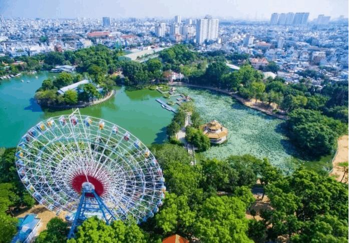 công viên nước đầm sen