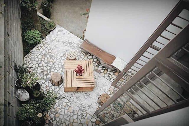 Không gian tinh tế của Homestay Mosaic Garden (Ảnh: ST)