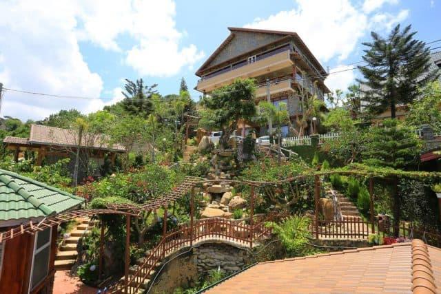 Một góc nhỏ trong Zen Valley - Resort Đà Lạt (Ảnh ST)