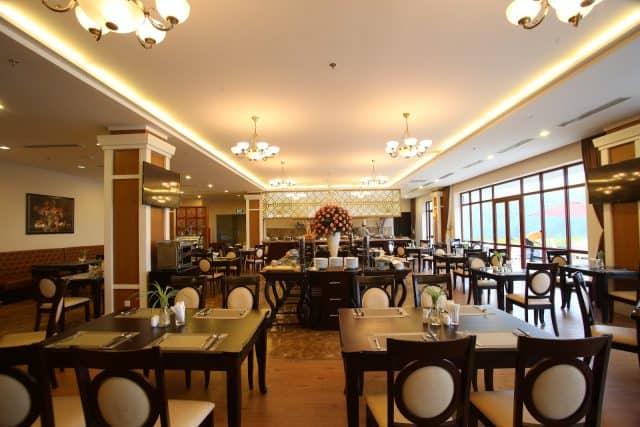 Nhà hàng sang trọng tại resort (Ảnh ST)