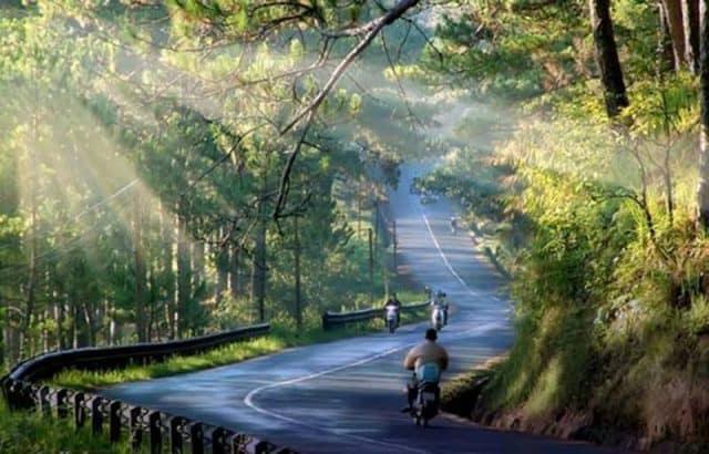 Cảnh đẹp thơ mộng tại đèo Prenn (Ảnh ST)