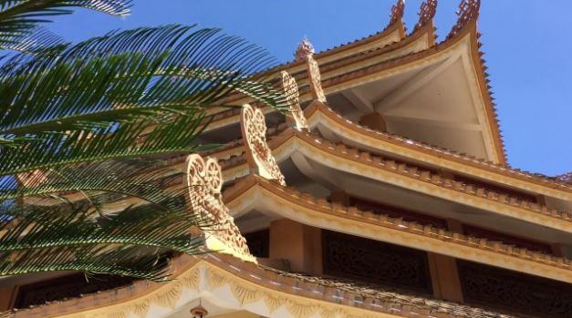 kiến trúc pháp viện minh đăng quang
