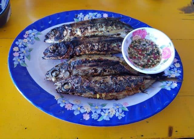 Món cá chuồn nướng đặc biệt thơm ngon (Ảnh ST)