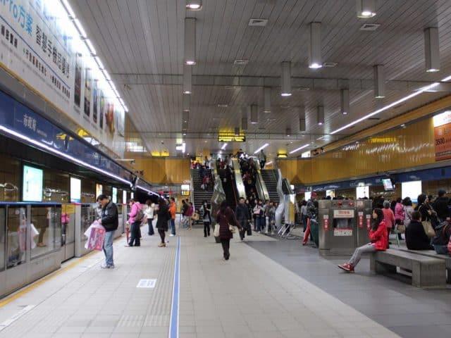 Phương tiện công cộng ở Đài Loan vô cùng phát triển (Ảnh ST)