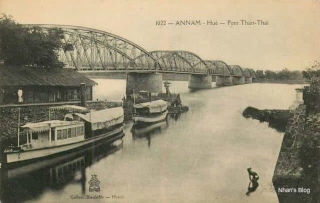 Cầu Tràng Tiền - những hình ảnh xưa cũ (Ảnh ST)