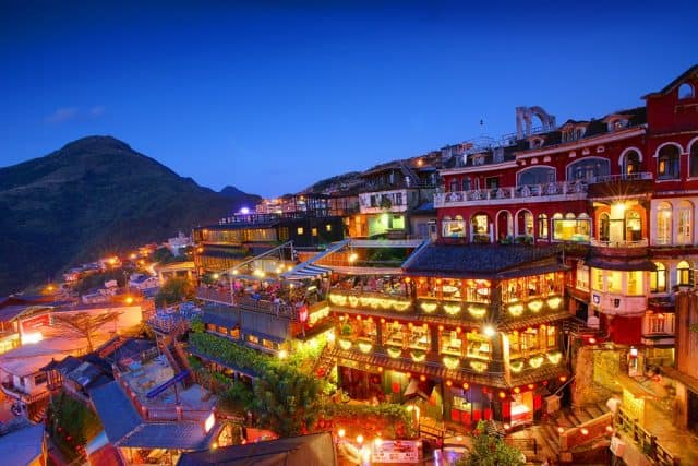 Đài Loan với những khung cảnh thơ mộng (Ảnh ST)