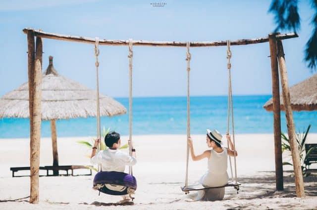 Những bức ảnh lãng mạn được chụp tại bãi biển (Ảnh ST)