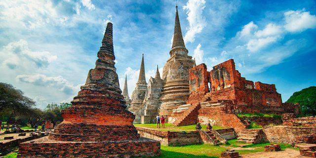 Kinh đô cổ Ayutthaya (Ảnh ST)