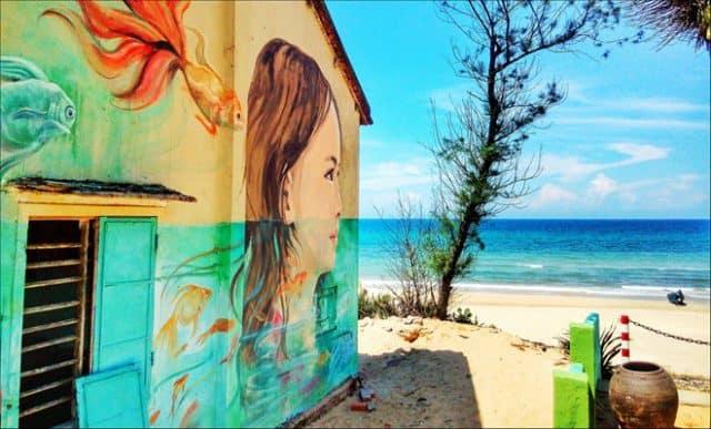 Những bức tranh tường sống động (Ảnh ST)
