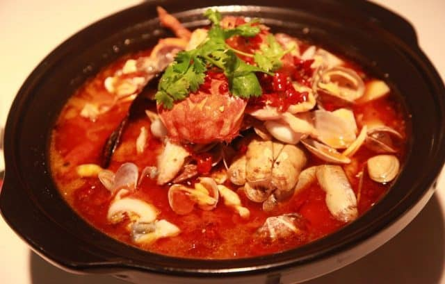 Lẩu Thái chua cay (Ảnh ST)