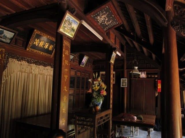 Không gian trong những ngôi nhà cổ (Ảnh ST)