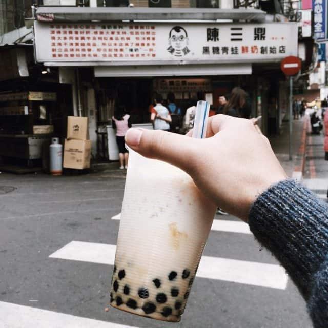 Thức uống quen thuộc mang hương vị của Đài Loan (Ảnh ST)
