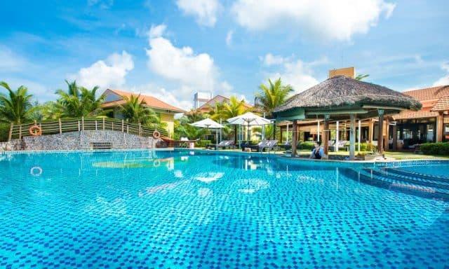 Hồ bơi chung của Famiana Resort & Spa (Ảnh ST)