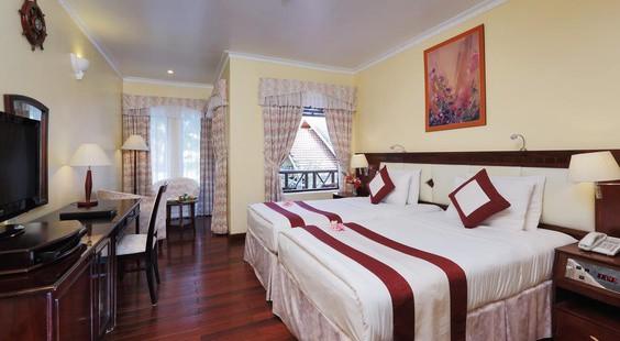 Phòng ngủ của khách sạn (Ảnh ST)