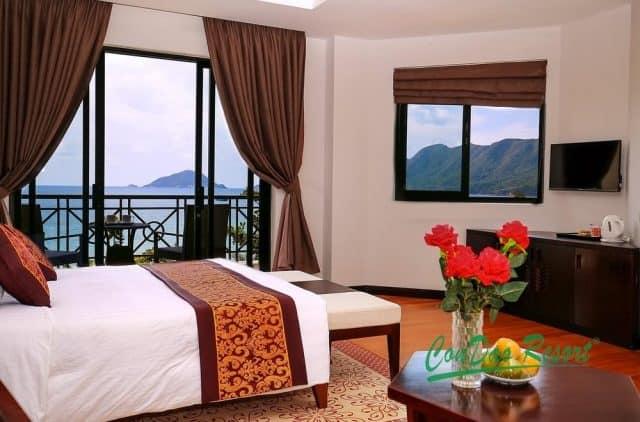 Nằm trong phòng ngắm được khung cảnh biển và khung cảnh xung quanh ( Ảnh ST)
