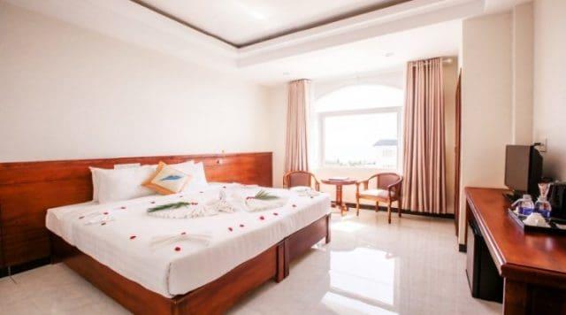 Phòng nghỉ của khách sạn được thiết kế sang trọng (Ảnh ST)