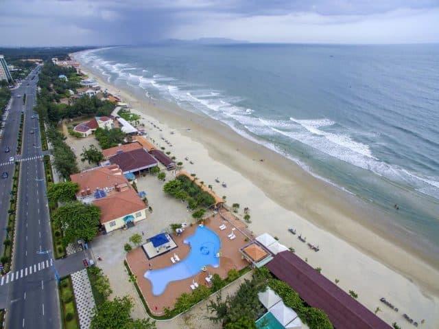 Nằm ngắm khung cảnh biển ở gió biển resort (Ảnh ST)
