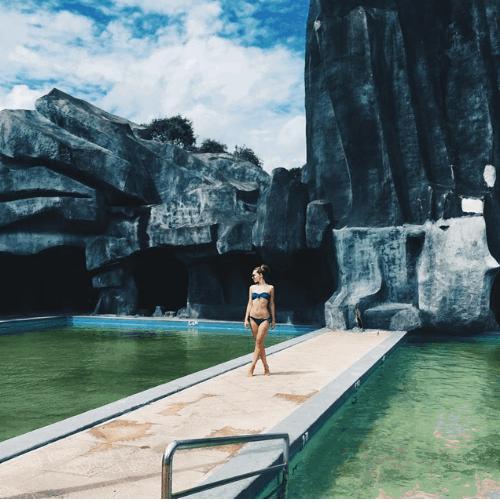 Khu suối nơi nên đến khi du lịch ở Vũng Tàu (Ảnh ST)