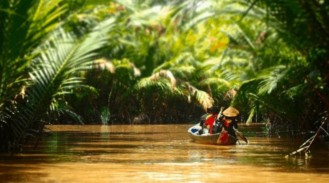 Đối với người nước ngoài, Cù lao Thới Sơn luôn lọt top những địa điểm du lịch nổi tiếng tại Tiền Giang