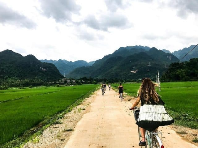 Bản làng ở Mai Châu